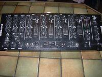 citronic cdm 8.4 usb disco/karaoke mixer with all cables
