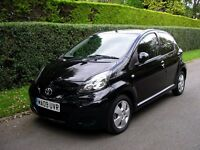 2009 (09) TOYOTA AYGO 5 Dr 998cc Genuine 24K One family owner from new. Service History MOT 29.6.17