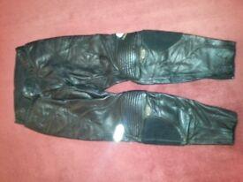SHOE bike leather trousers