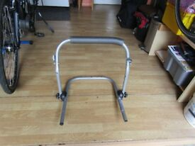 Halfords cycle carrier for 2 bikes