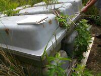 MANY FIBREGLASS, WATERTIGHT EX LILLY PONDS