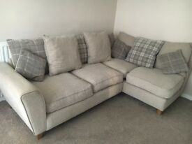 Dfs corner sofa and chair immaculate condition