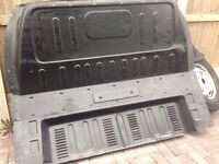 Ford transit 11 plate bulkhead with screws ready to go in proper ford one I just took it out