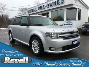 2013 Ford Flex SEL AWD...Moonroof, Heated leather, Alloys, Rear