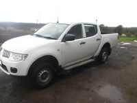 Mitsubishi L200 4life 4x4 4 door 60plate pick up NO VAT MAY SWAP