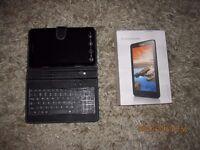 Lenovo Tab A8 blue as & keyboard