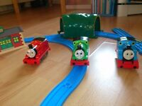 Thomas and friends track set and trains