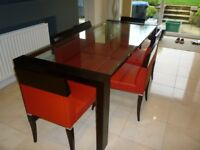 Modern Style Dining Table and 6 Chairs