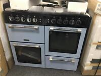 Leisure 100cm dual fuel range new 12 month gtee £