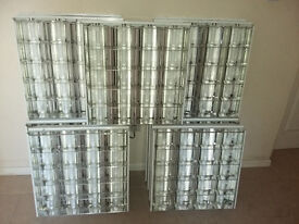 600 x 600 fluorescent light units good condition