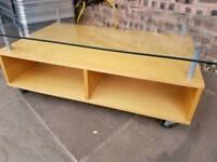 Ikea coffee table / tv stand