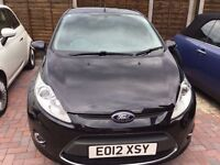 3Mths Warranty, Full Service History, Ford Fiesta Zetec 1.4 TDCI Zetec Diesel Black Manual £20 RdTax
