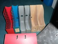 wood and plastic file,s 50p each