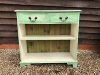 Antique Oak Painted Bookcase