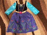 Age 3-4 year old Anna costume