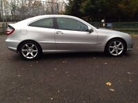 Mercedes C Class Coupe C220 Turbo Diesel Sport Edition (Full Service History)