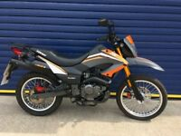 IMMACULATE 2016 KEEWAY TX125cc TRAIL BIKE , ONLY 400 MILES FULLY SERVICED , HPI CLEAR , LIKE NEW