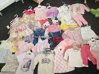 Bundle of baby girls cloths