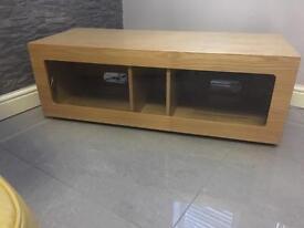 Modern Solid Wood TV cabinet