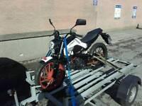 Kymco k-pipe 50cc motorbike