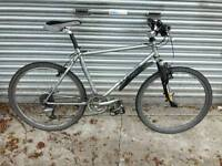Orange P7 Mountain Bicycle For Sale in Great Working Order.