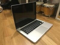 MacBook Pro (13-inch) / 2.5 GHz Intel Core i5 / 4 GB 1600 MHz DDR3 / Intel HD Graphics 4000 1024 MB