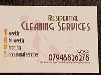 Cleaner and very good cleaning service in Glasgow