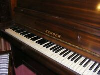 Upright Zender Piano