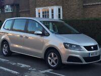 2011 Seat Alhambra S CR Ecomotive 140BHP TDI 2.0 Diesel Manual 7s MPV, not Volkswagen Sharan