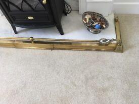 Fire fender brass expandable