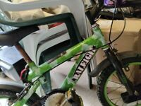 Raleigh children bikes bicycles with stabilisers different ages 4-9yrs old £20-25 quality