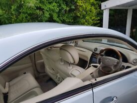 Mercedes-Benz CLK 320 cdi Sport Full elect pack , cream leather seats