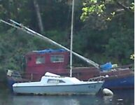 Prelude grp sailing boat 20 ft £500 or ONO