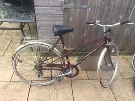 Raleigh Misty Ladies Bike, Serviced. Lovely Condition.