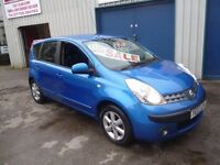 Nissan NOTE SE,5 dr hatchback,rare auto,full MOT,nice clean tidy car,runs and drives as new,only 56k