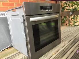 Built in Zanussi single electric oven