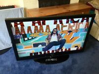 SAMSUNG 52 INCH FULL HD 1080P LCD TV WITH DIGITAL FREEVIEW BUILT IN.