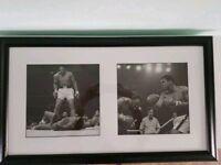 Muhammad Ali framed pictures