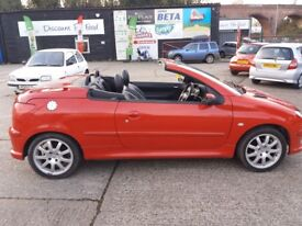 2006 Peugeot 206 coupe convertible