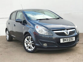 2011 VAUXHALL CORSA 1.2 SXI 5 DOOR PLUS PACK AND PROTECTION PACK