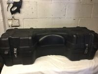 Quad storage box with back rest in excellent condition