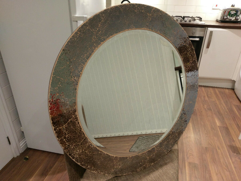Next Mosaic Round Mirror