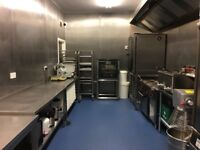 Professional Commercial Kitchen fully equipped, rent on a monthly basis, daily or part-time.