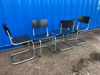 Mart Stam S43 dining chairs by Thonet x4 - Mid century classic