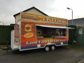 Food trailer for sale! Start your own mobile catering business right now! 07707090185