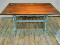 Solid Oak priory dining table
