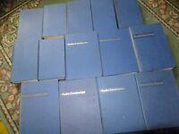 Radio Constructor hardback books (14)