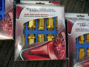 BRAND NEW COLOURED WHEEL NUTS - 12X1.5 & 12X1.25