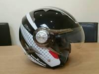 Open faced helmet by Nitro. Size M.