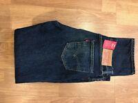 Men's Levi's 511 jeans in dark blue 34 waist 34 leg